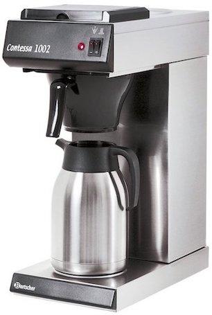 Bartscher Contessa 1002 2L Machine à Café Professionnelle à Filtre