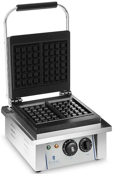 Royal Catering Gaufrier Professionnel Simple 2 Gaufres