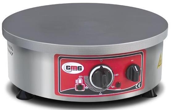 GMG Eco Crêpière Professionnelle Électrique