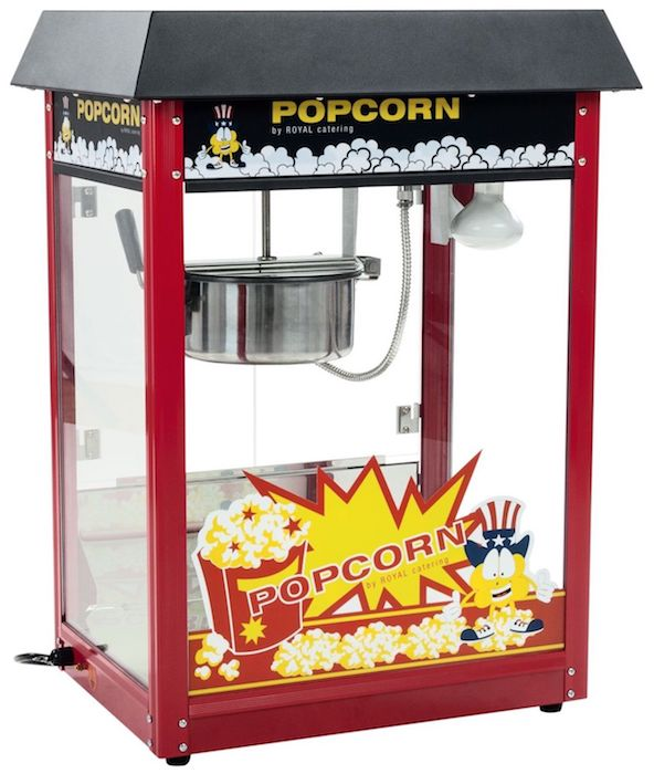 Royal Catering Classique Machine à Pop-Corn Professionnelle