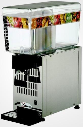 Santos 34 12L Machine à Granita Professionnelle 1 Bac