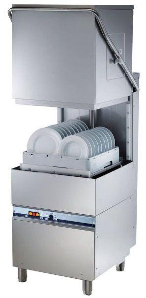 TechnItalia 500x500 Lave-Vaisselle Professionnel à Capot