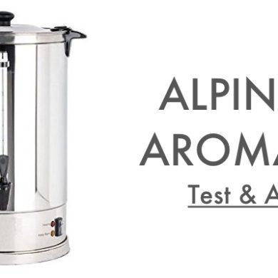 Test Avis Alpinox Aroma 7L Percolateur à Café Pro