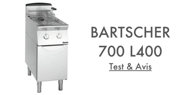 Test Avis Bartscher 700 L400 2x8L Friteuse à Gaz Professionnelle