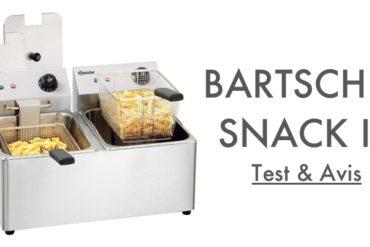 Test Avis Bartscher Snack 4 2x8 L Friteuse Professionnelle
