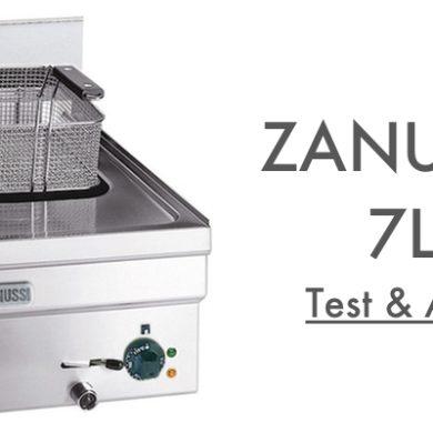Test Avis Zanussi 7L Friteuse à Gaz Professionnelle
